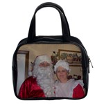 Santa & Mrs Clause Purse - Classic Handbag (One Side)