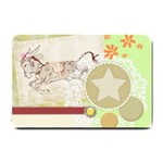 Leaping donkey Small Doormat