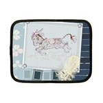 Leaping donkey Netbook Case (Small)