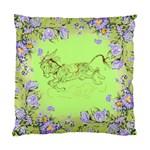 Leaping donkey Cushion Case (Two Sides)