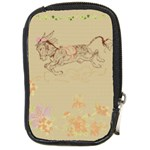 Leaping donkey Compact Camera Leather Case