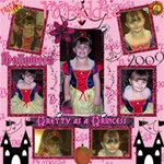 Maddie 12x12 Halloween  09 ScrapPages - ScrapBook Page 12  x 12