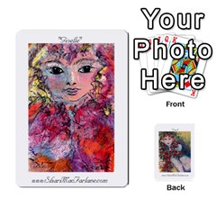 Shari s Portable Portfolio By Alana   Playing Cards 54 Designs   Lkam5xpuc708   Www Artscow Com Front - Spade3