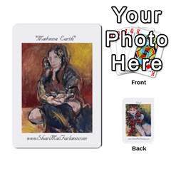 Shari s Portable Portfolio By Alana   Playing Cards 54 Designs   Lkam5xpuc708   Www Artscow Com Front - Heart8