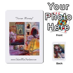 Ace Shari s Portable Portfolio By Alana   Playing Cards 54 Designs   Lkam5xpuc708   Www Artscow Com Front - ClubA