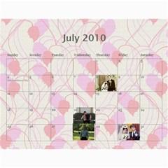Shokov Kalendar  By Tanya   Wall Calendar 11  X 8 5  (12 Months)   8zrm478nyepj   Www Artscow Com Jul 2010