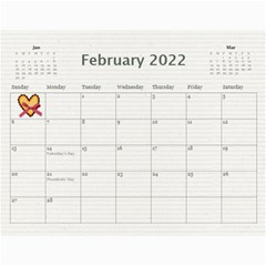 Calendar 2015 By Sheena   Wall Calendar 11  X 8 5  (12 Months)   Fzhpnv5q9ue9   Www Artscow Com Feb 2015