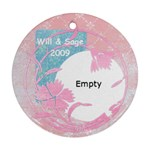 Will and Sage 2009 - Ornament (Round)