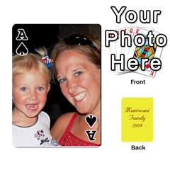 Ace Mamma222 By Jennifer Dunn   Playing Cards 54 Designs   Emrjsv87vpjt   Www Artscow Com Front - SpadeA