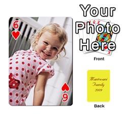 Mamma222 By Jennifer Dunn   Playing Cards 54 Designs   Emrjsv87vpjt   Www Artscow Com Front - Heart6