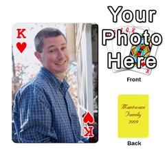 King Mamma222 By Jennifer Dunn   Playing Cards 54 Designs   Emrjsv87vpjt   Www Artscow Com Front - HeartK