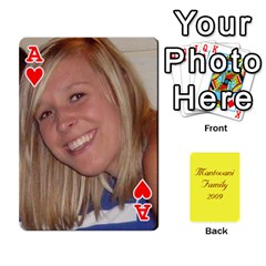 Ace Mamma222 By Jennifer Dunn   Playing Cards 54 Designs   Emrjsv87vpjt   Www Artscow Com Front - HeartA