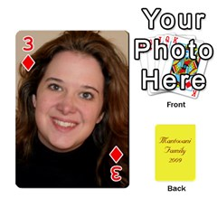 Mamma222 By Jennifer Dunn   Playing Cards 54 Designs   Emrjsv87vpjt   Www Artscow Com Front - Diamond3