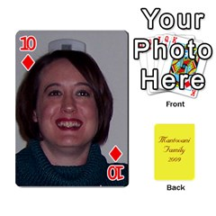 Mamma222 By Jennifer Dunn   Playing Cards 54 Designs   Emrjsv87vpjt   Www Artscow Com Front - Diamond10