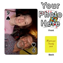 Mamma222 By Jennifer Dunn   Playing Cards 54 Designs   Emrjsv87vpjt   Www Artscow Com Front - Spade9