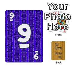 Tiki Rummy By Steve   Playing Cards 54 Designs   78c2gend14a3   Www Artscow Com Front - Heart8
