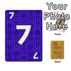Tiki Rummy By Steve   Playing Cards 54 Designs   78c2gend14a3   Www Artscow Com Front - Diamond3