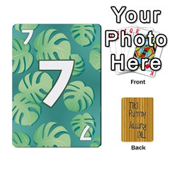 Tiki Rummy By Steve   Playing Cards 54 Designs   78c2gend14a3   Www Artscow Com Front - Diamond5