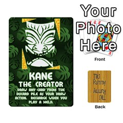 Tiki Rummy By Steve   Playing Cards 54 Designs   78c2gend14a3   Www Artscow Com Front - Spade5