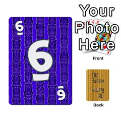 Tiki Rummy By Steve   Playing Cards 54 Designs   78c2gend14a3   Www Artscow Com Front - Diamond6