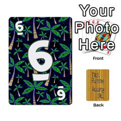 Tiki Rummy By Steve   Playing Cards 54 Designs   78c2gend14a3   Www Artscow Com Front - Diamond8