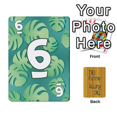 Tiki Rummy By Steve   Playing Cards 54 Designs   78c2gend14a3   Www Artscow Com Front - Diamond9