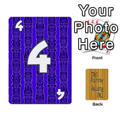 Tiki Rummy By Steve   Playing Cards 54 Designs   78c2gend14a3   Www Artscow Com Front - Club2