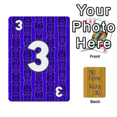 Tiki Rummy By Steve   Playing Cards 54 Designs   78c2gend14a3   Www Artscow Com Front - Club6