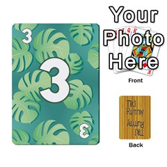 Tiki Rummy By Steve   Playing Cards 54 Designs   78c2gend14a3   Www Artscow Com Front - Club8