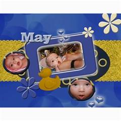 Gina Calendar By Yvette Mouer   Wall Calendar 11  X 8 5  (12 Months)   S2y2c8jy7xr9   Www Artscow Com Month
