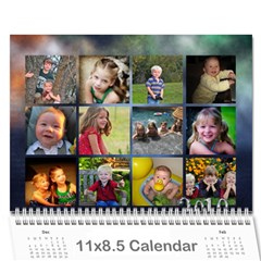 Grandma09 By Nicki   Wall Calendar 11  X 8 5  (18 Months)   Qygv4awcxtx7   Www Artscow Com Cover