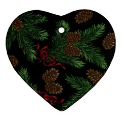 Christmas By Carmensita   Heart Ornament (two Sides)   Fmdxxrlmkd5m   Www Artscow Com Back
