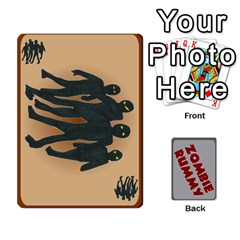 Zombie Rummy By Lee Smith   Playing Cards 54 Designs   6gbldh9m77uf   Www Artscow Com Front - Club5