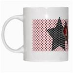 lucky stars mug - White Mug