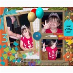 8x10 Collages - Maddie s 3rd Bday - Collage 8  x 10
