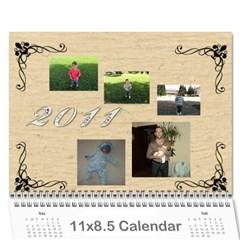 Календар   Мери   2010 By Mary Lulcheva   Wall Calendar 11  X 8 5  (12 Months)   Dzddus4mk4ul   Www Artscow Com Cover