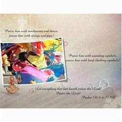 Bible Verse Wall Calendar 2010 By Iris Nelson   Wall Calendar 11  X 8 5  (12 Months)   Tvw8d63gs124   Www Artscow Com Month
