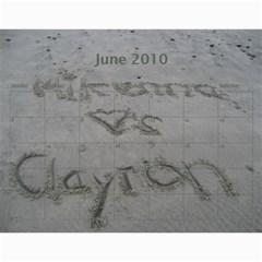 Mcalender By Kimm Harman   Wall Calendar 11  X 8 5  (12 Months)   Wqzl0rg6gakk   Www Artscow Com Jun 2010