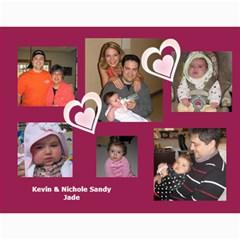 2010 Sandy Family Calendar By Jill Coston   Wall Calendar 11  X 8 5  (12 Months)   Wws5sf418nqb   Www Artscow Com Month