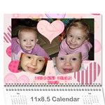 2010 Calendar with Important Dates (all) - Wall Calendar 11  x 8.5  (12-Months)