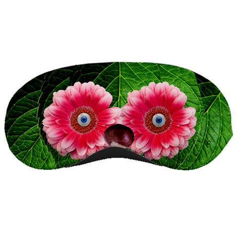 Gerbera Blue Eyes By Alana   Sleeping Mask   Ko9ncz1ndt93   Www Artscow Com Front