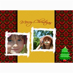 Christmas Photo Card By Wood Johnson   5  X 7  Photo Cards   5dvc8ny52y1n   Www Artscow Com 7 x5 Photo Card - 6