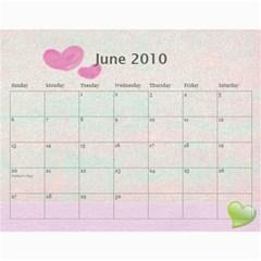 Mary s Calendar 2010 By Mary   Wall Calendar 11  X 8 5  (12 Months)   9akydngszmzz   Www Artscow Com Jun 2010