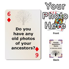 Family Question Card Game By Laurrie   Playing Cards 54 Designs   07o1lmsev80p   Www Artscow Com Front - Diamond6