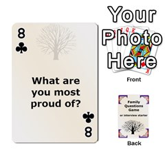 Family Question Card Game By Laurrie   Playing Cards 54 Designs   07o1lmsev80p   Www Artscow Com Front - Club8