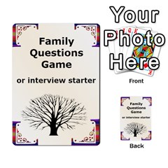 Family Question Card Game By Laurrie   Playing Cards 54 Designs   07o1lmsev80p   Www Artscow Com Back
