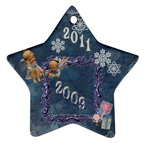 Blue Angels 2009 Christmas Ornament By Ellan   Ornament (star)   S6e2mci8is5g   Www Artscow Com Front