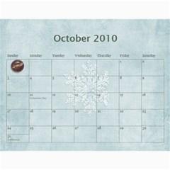 Calendar 2009 By Dhana   Wall Calendar 11  X 8 5  (12 Months)   Vlvqlxu6tn8k   Www Artscow Com Oct 2010