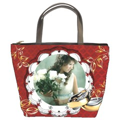 Wedding By Wood Johnson   Bucket Bag   Ss6py5mggbnm   Www Artscow Com Front