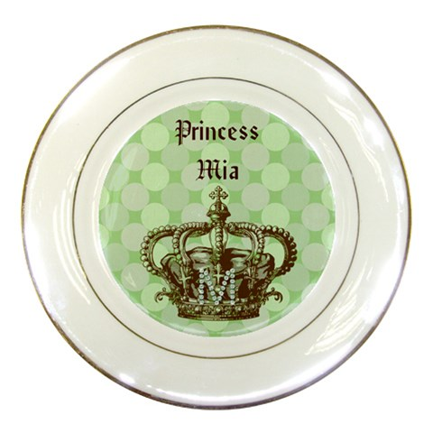 Mia Plate By Jeannie   Porcelain Plate   A7zkk8d7pdx4   Www Artscow Com Front